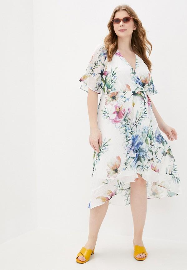 женское повседневные платье zizzi, белое