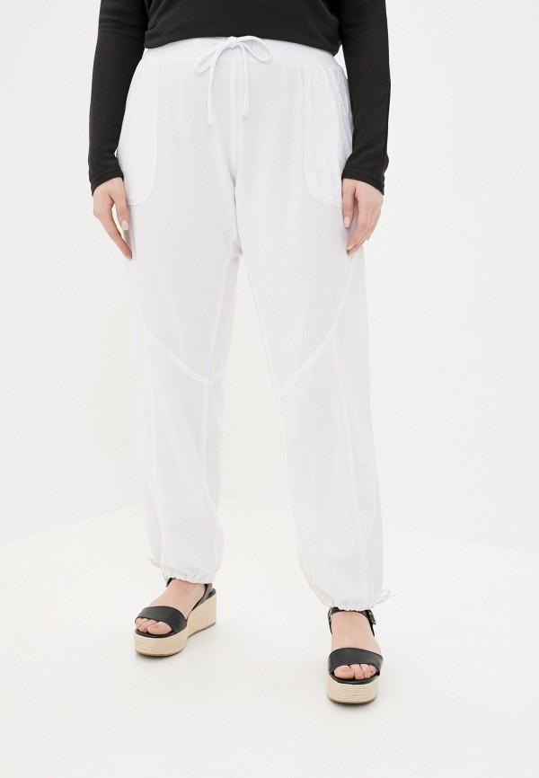 женские прямые брюки zizzi, белые