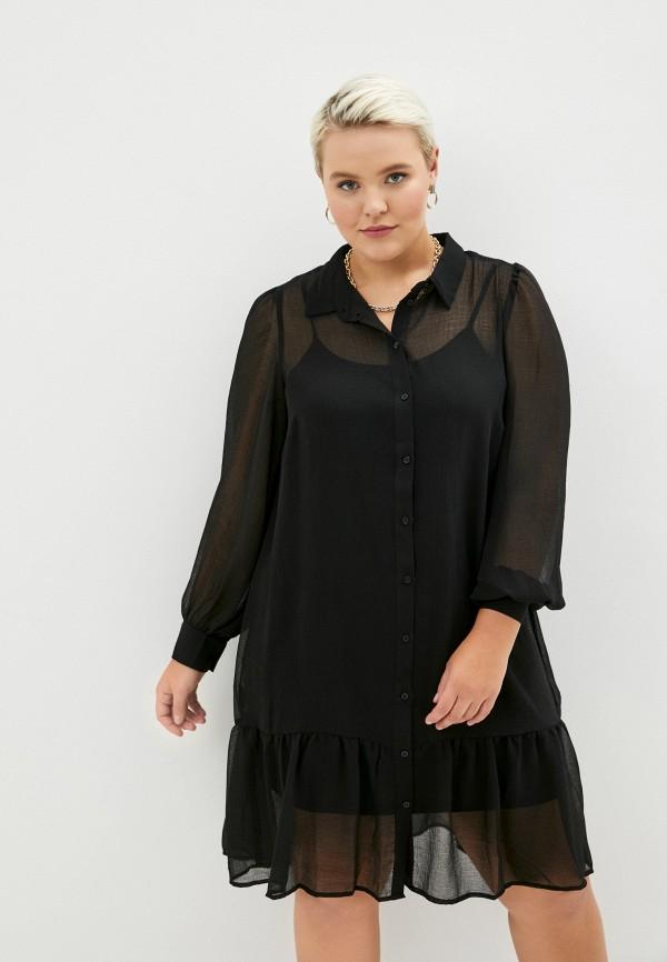 женское повседневные платье zizzi, черное