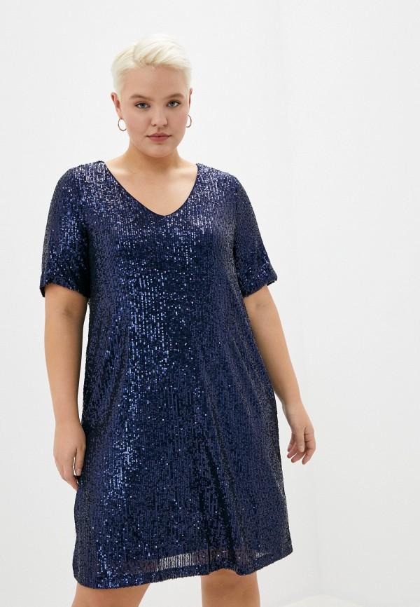 женское вечерние платье zizzi, синее