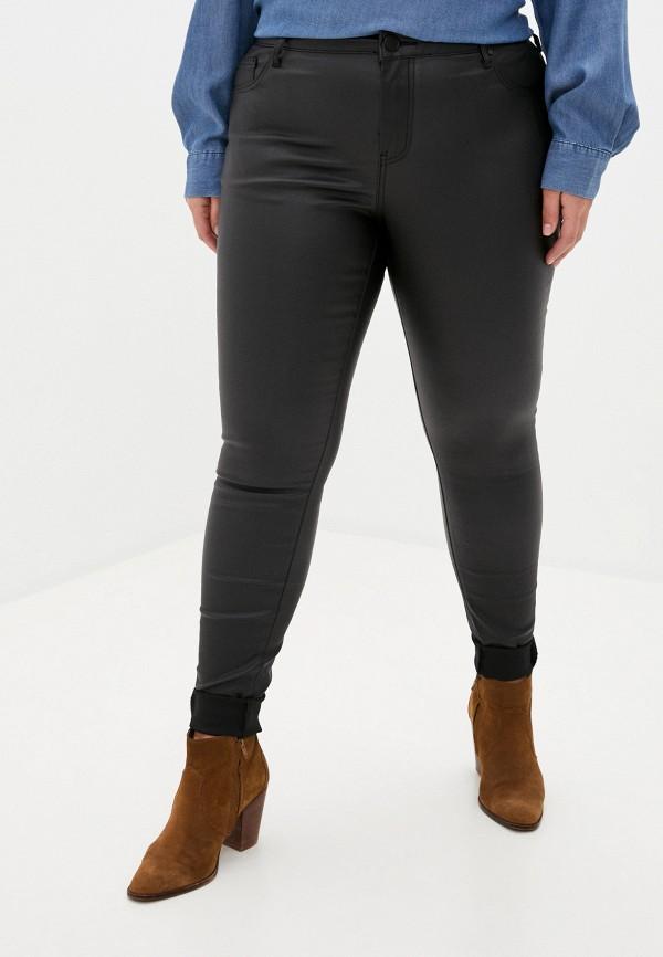 женские прямые брюки zizzi, черные