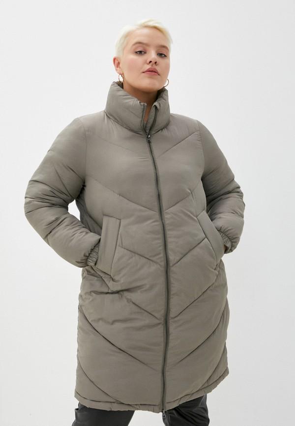 женская куртка zizzi, хаки