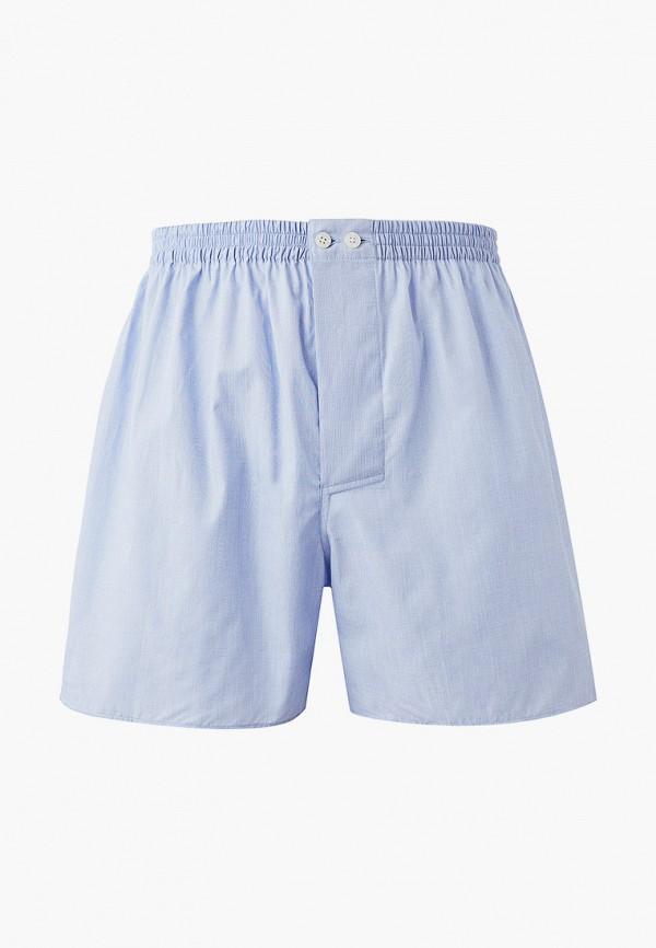 мужские трусы-шорты zimmerli, голубые