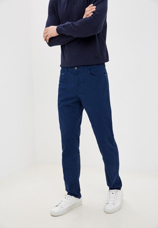 мужские повседневные брюки zolla, синие
