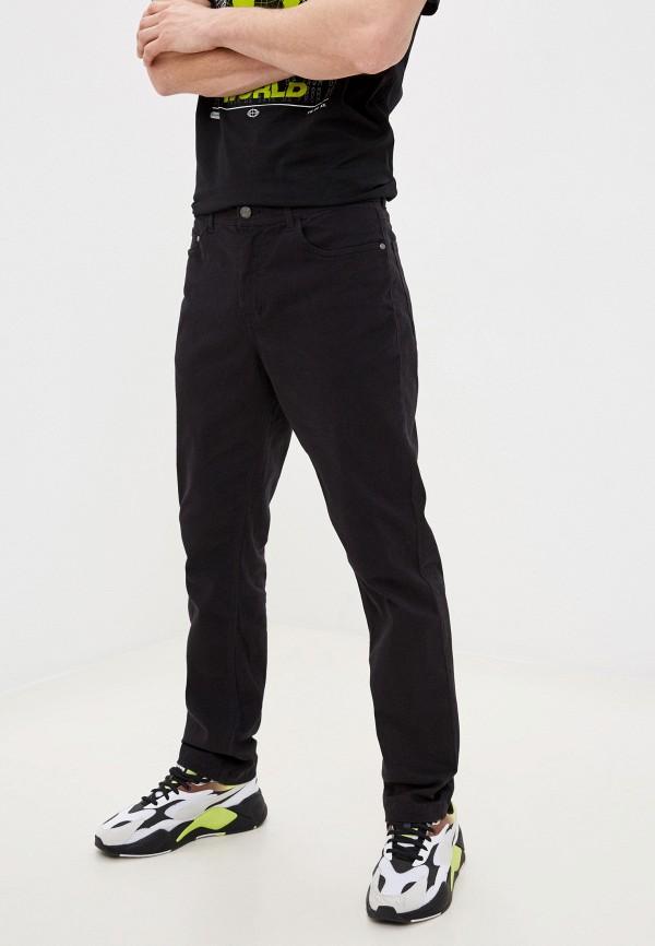 мужские повседневные брюки zolla, черные