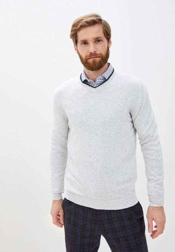 мужской пуловер zolla, серый