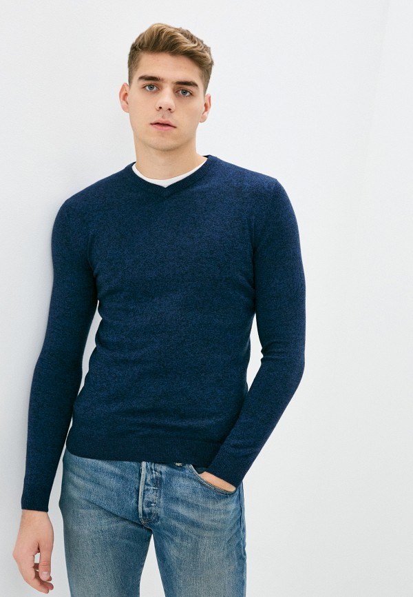 мужской пуловер zolla, синий