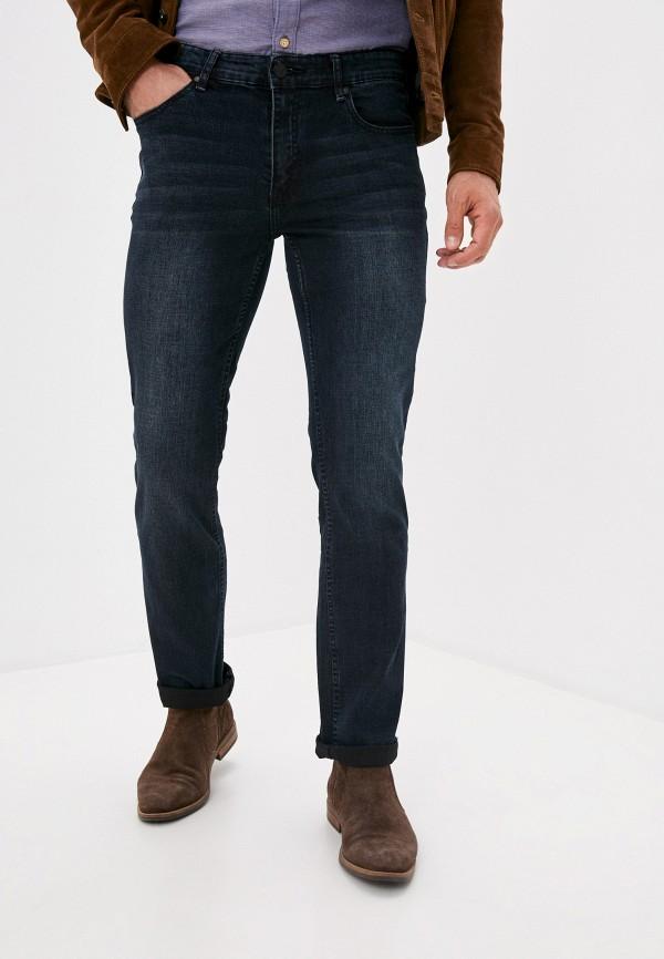 мужские прямые джинсы zolla, синие