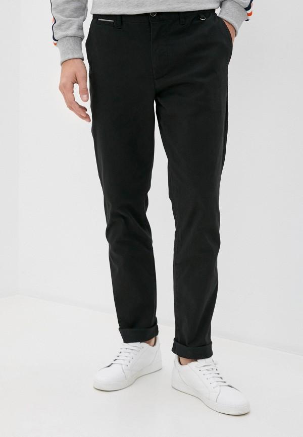 мужские брюки чинос zolla, черные