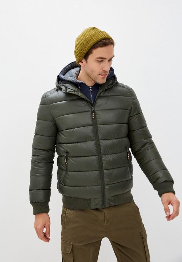 мужская куртка zolla, хаки