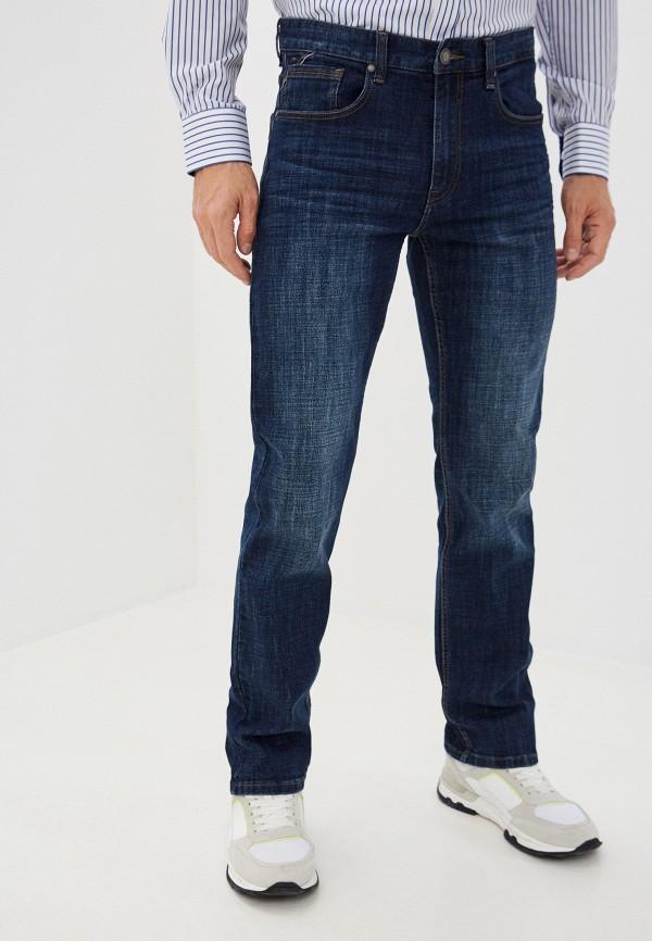 мужские зауженные джинсы zolla, синие