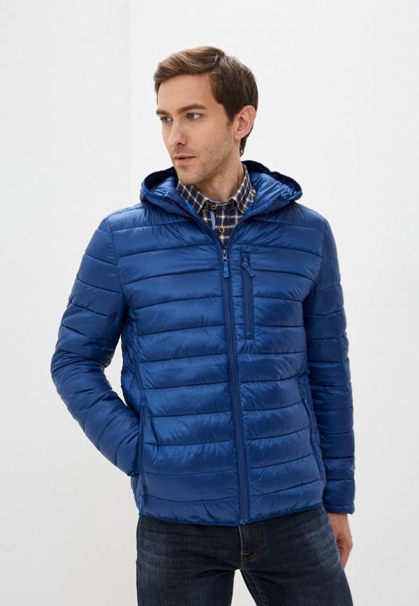 мужская куртка zolla, синяя