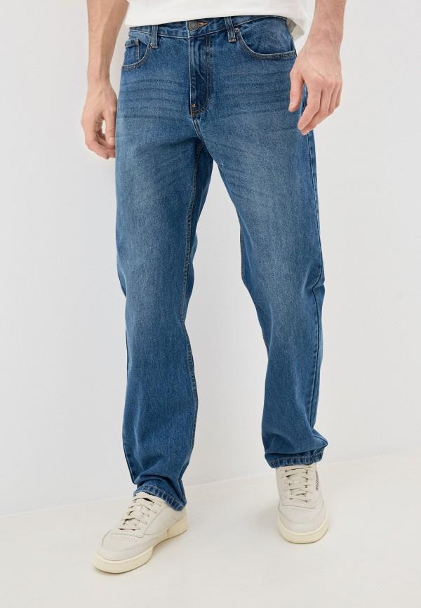 мужские прямые джинсы zolla, голубые