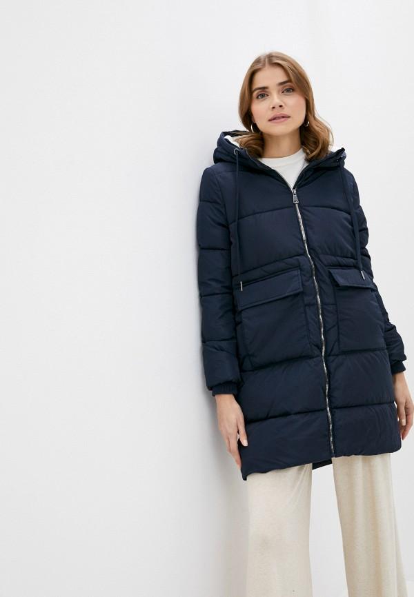 женская куртка zolla, синяя