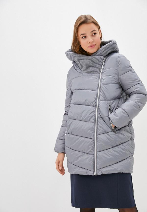 женская куртка zolla, серая