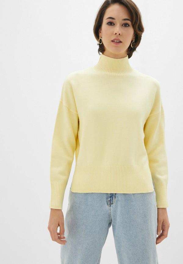 женский свитер zolla, желтый
