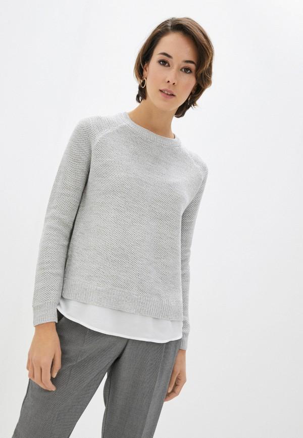 женский джемпер zolla, серый