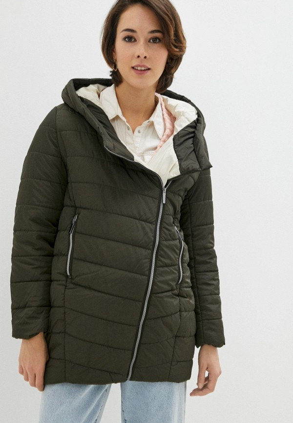 женская куртка zolla, хаки