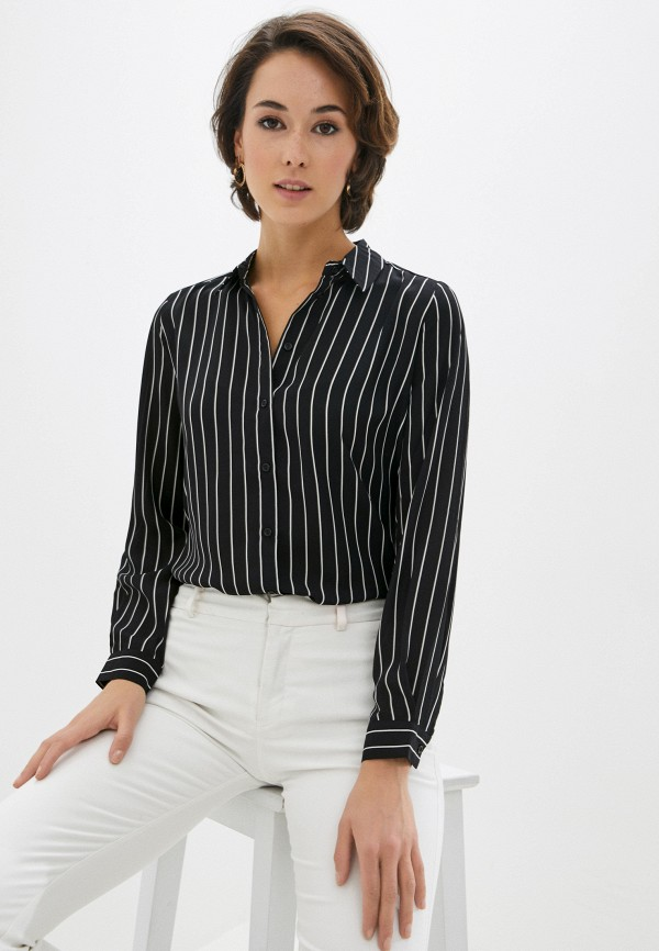 женская блузка zolla, черная