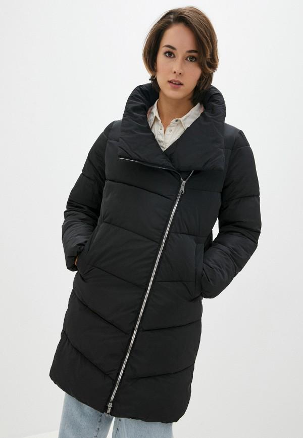 женская куртка zolla, черная