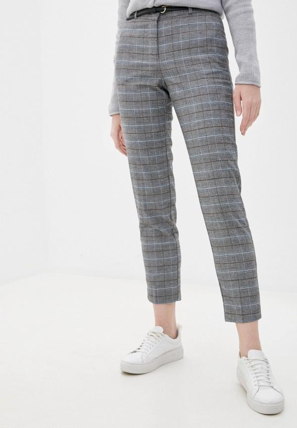 женские повседневные брюки zolla, серые