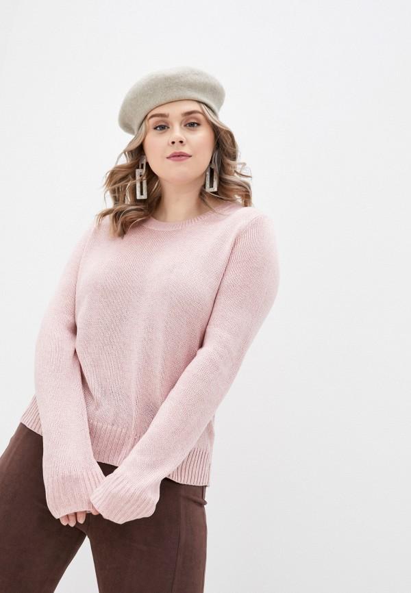 женский джемпер zolla, розовый