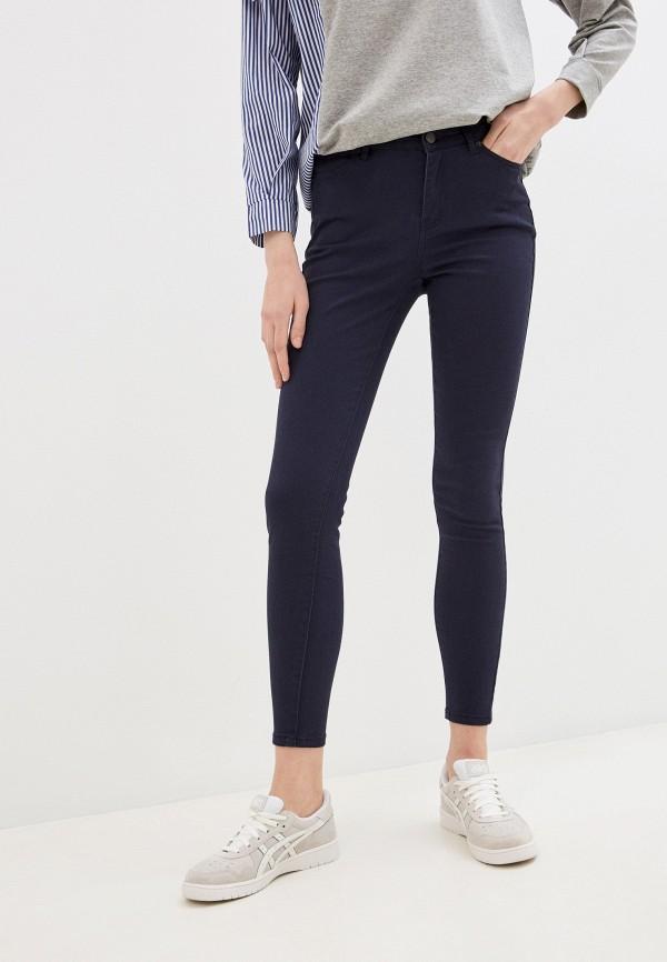 женские повседневные брюки zolla, синие