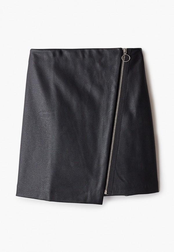 женская юбка zolla, черная