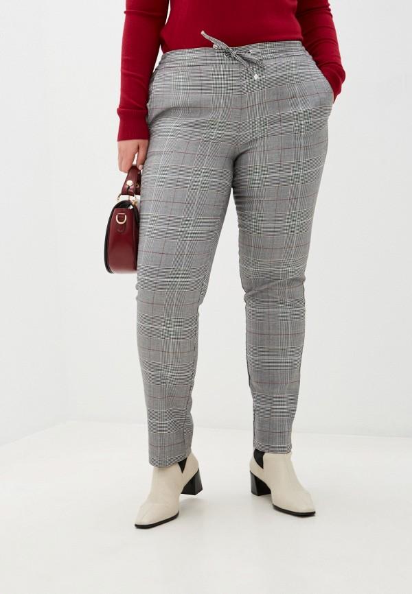 женские прямые брюки zolla, серые