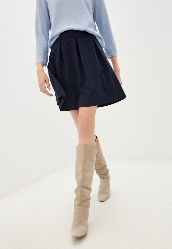 женская юбка zolla, синяя