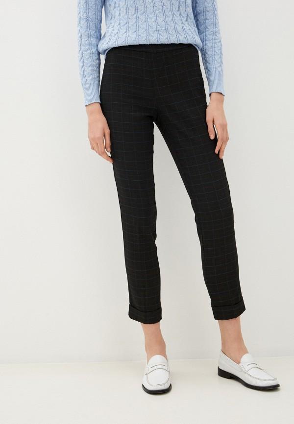женские классические брюки zolla, черные