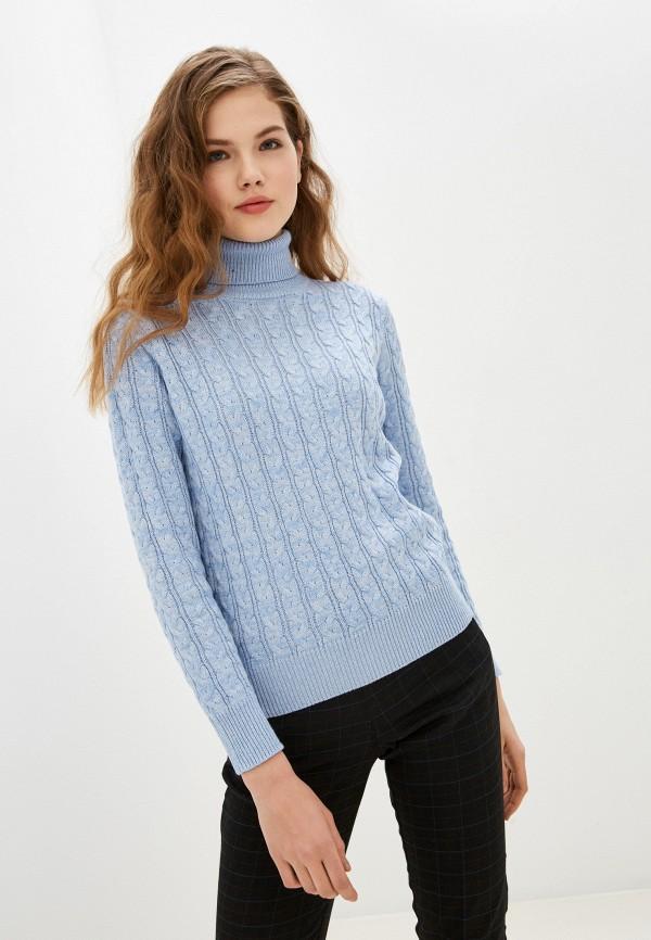женский свитер zolla, голубой