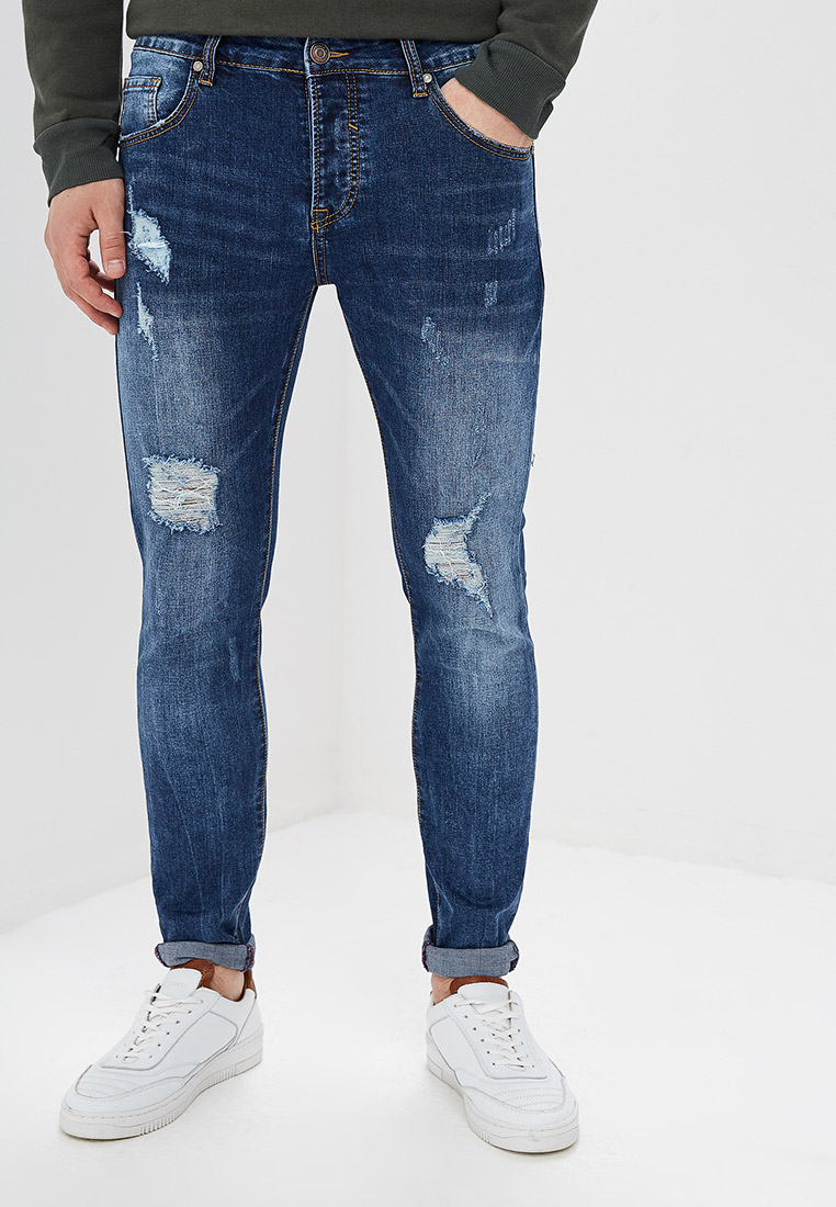 Зауженные джинсы Aarhon A118