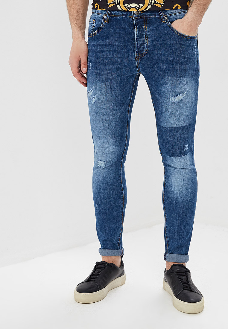 Зауженные джинсы Aarhon A122