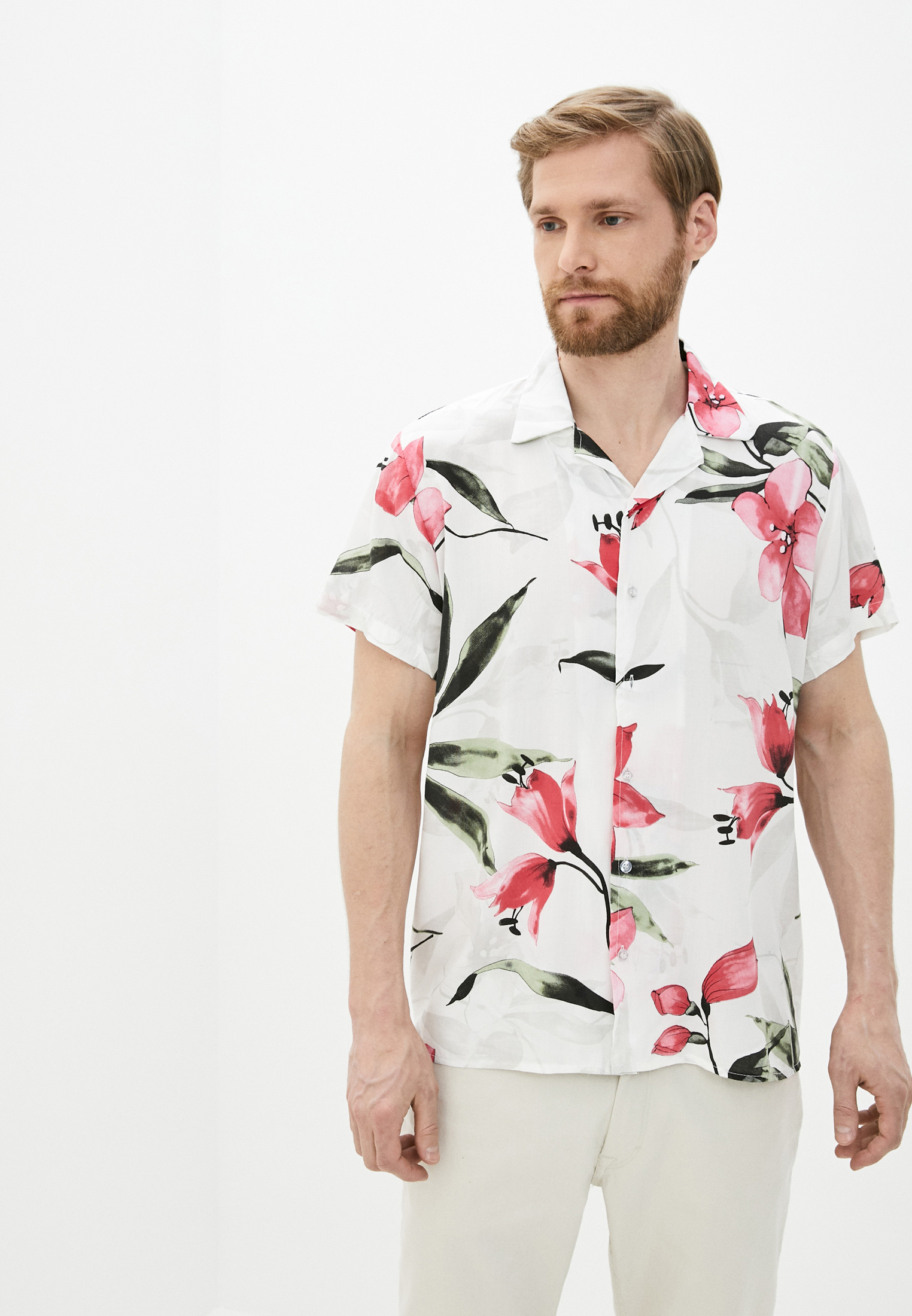 Рубашка с коротким рукавом Aarhon (Аарон) 4-92386