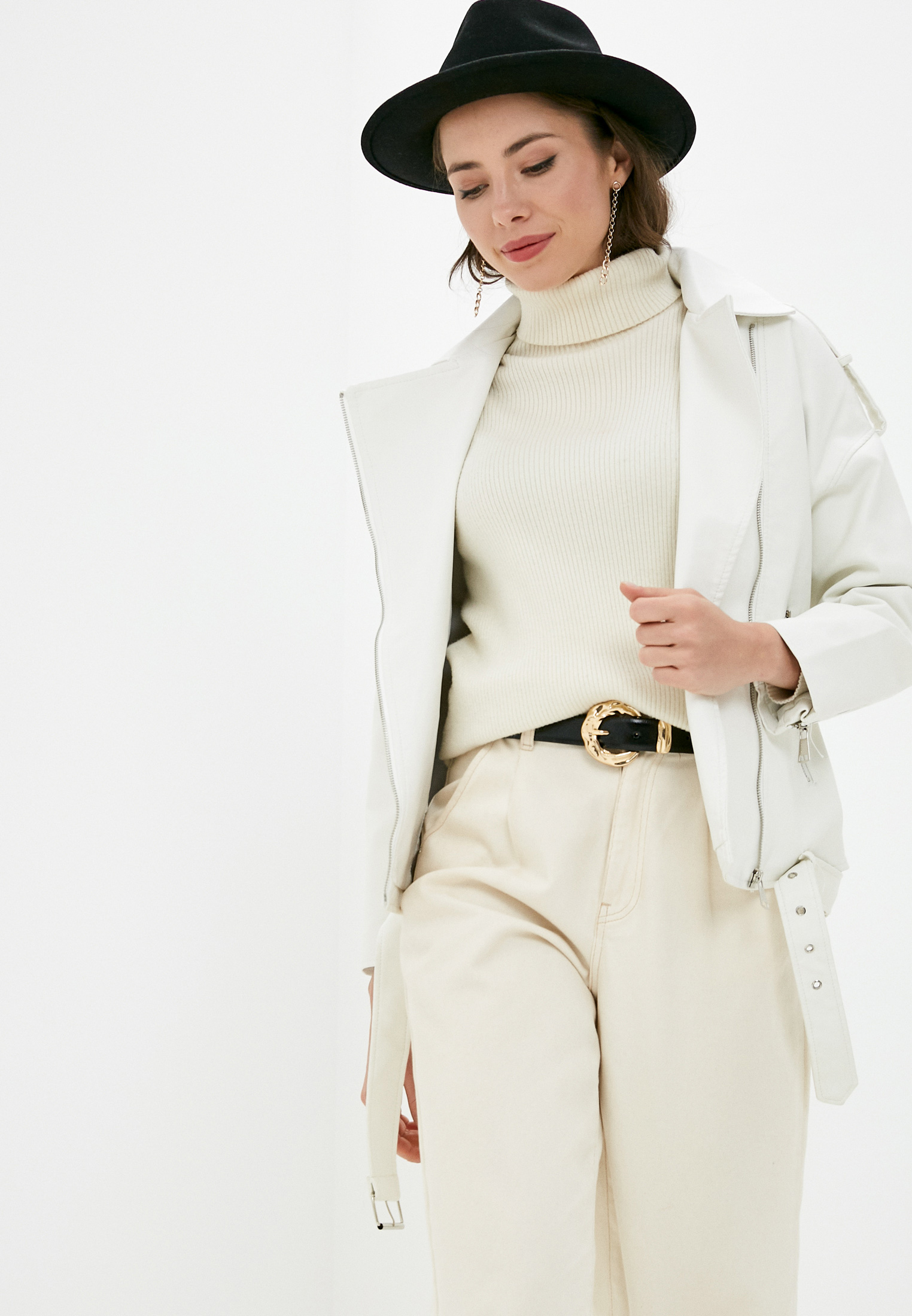Кожаная куртка Aaquamarina 2059