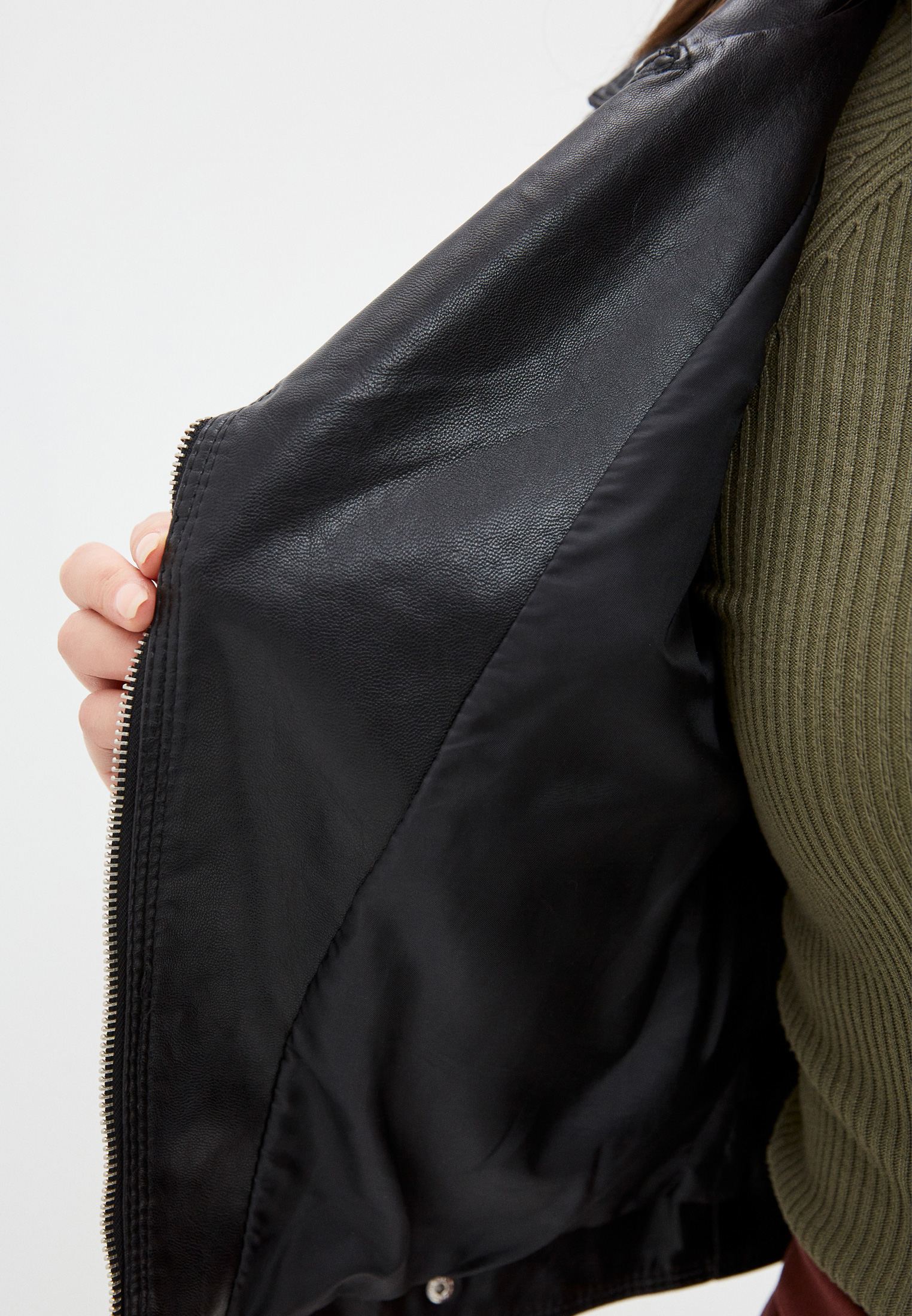 Кожаная куртка Aaquamarina 8851: изображение 5