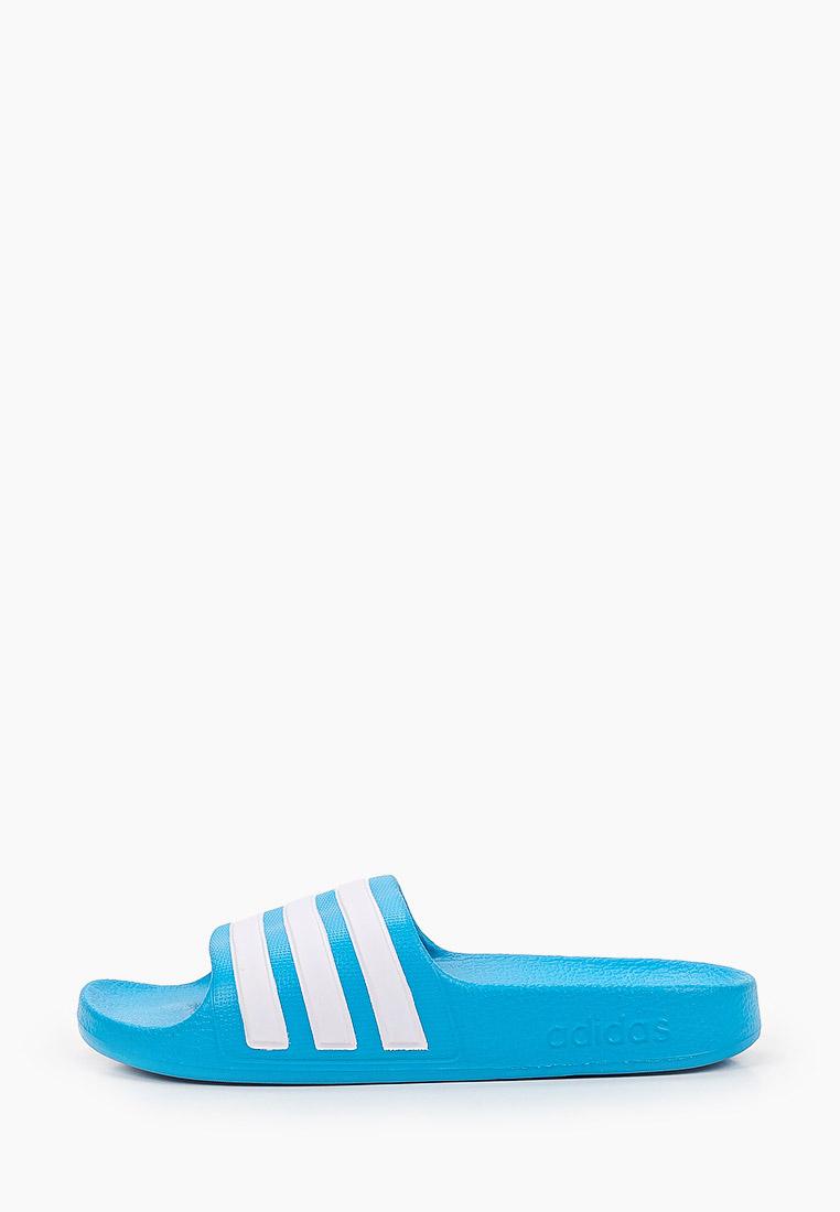 Сланцы для мальчиков Adidas (Адидас) FY8071: изображение 1