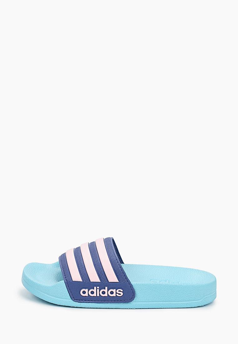 Сланцы для мальчиков Adidas (Адидас) FY8842: изображение 1