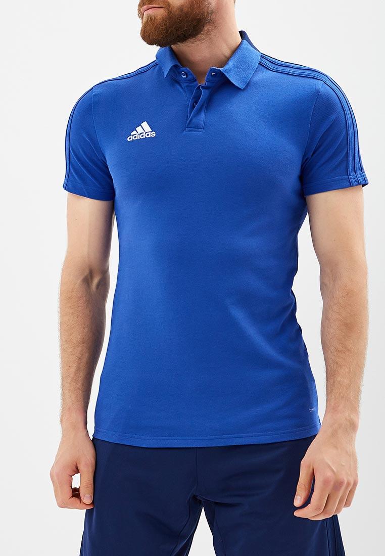 Мужские поло Adidas (Адидас) CF4375
