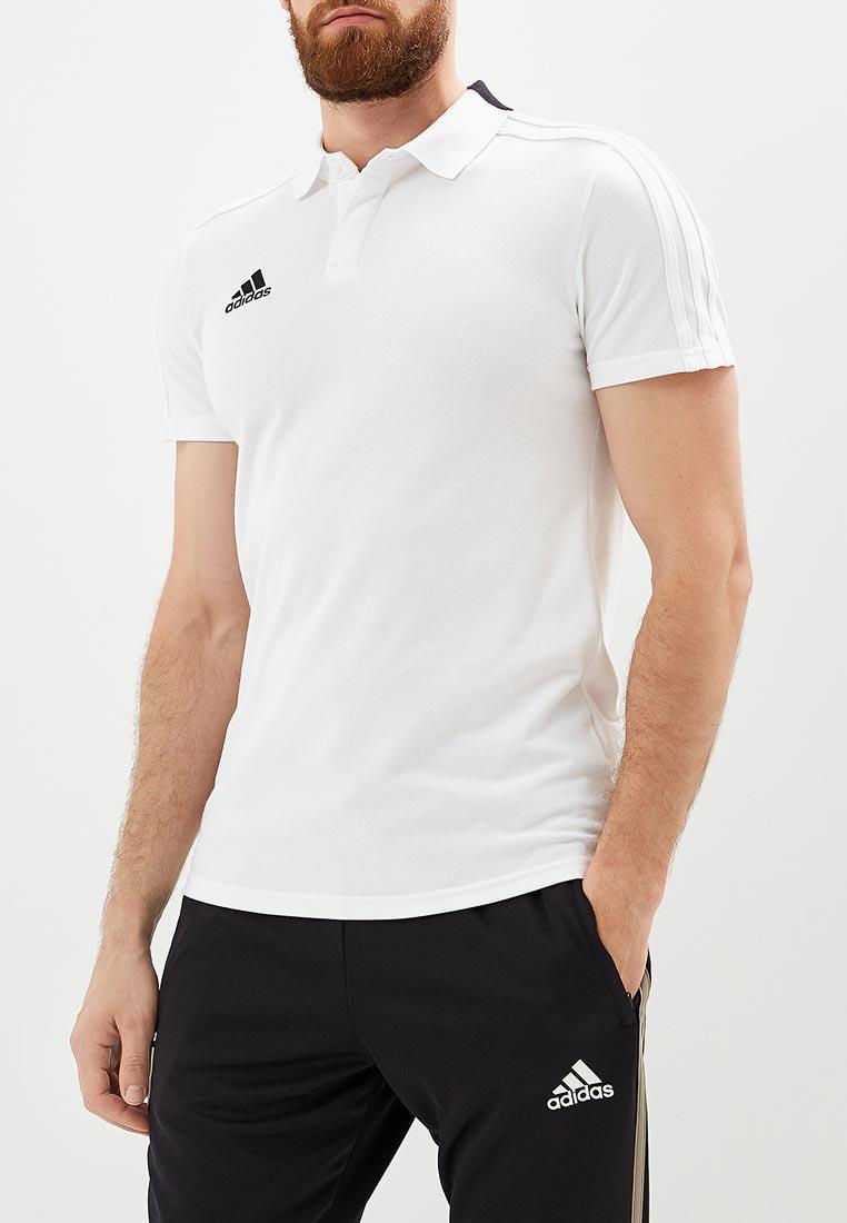Мужские поло Adidas (Адидас) CF4377
