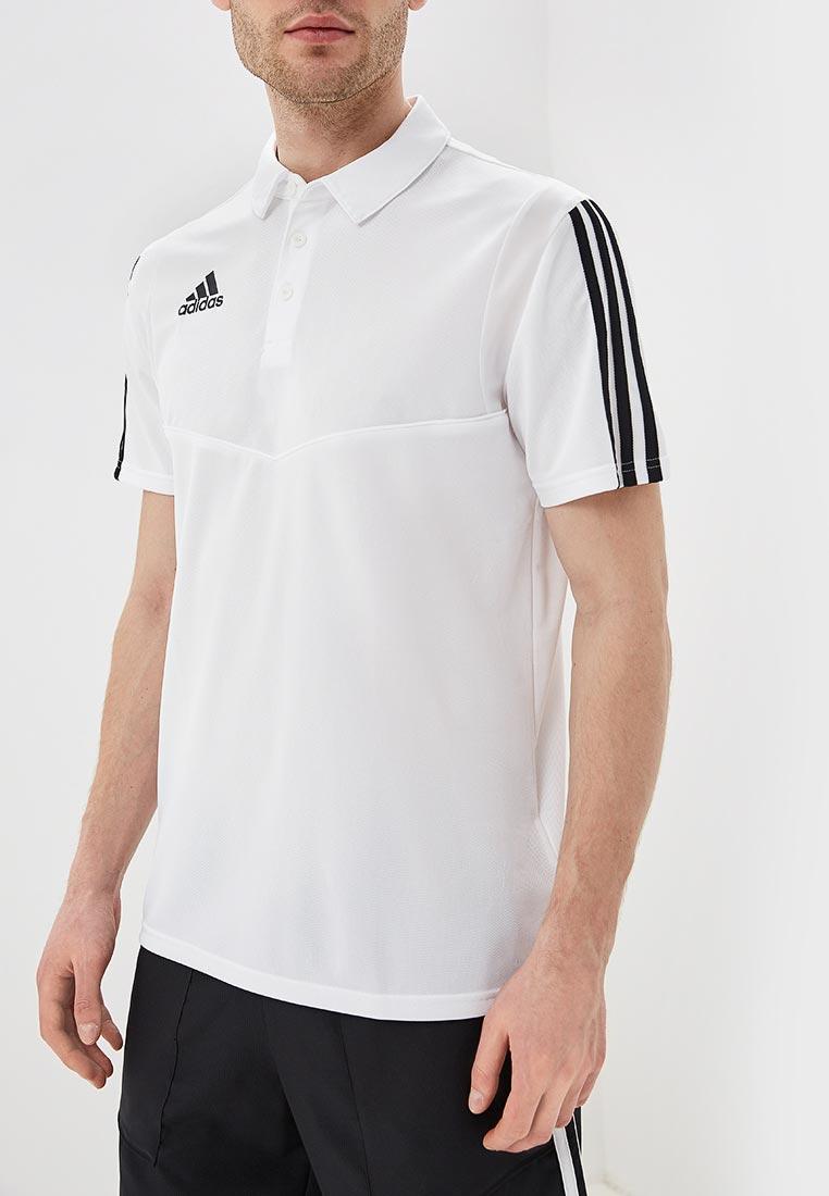Мужские поло Adidas (Адидас) DT5412