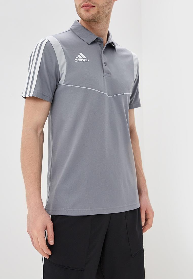 Мужские поло Adidas (Адидас) DW4733