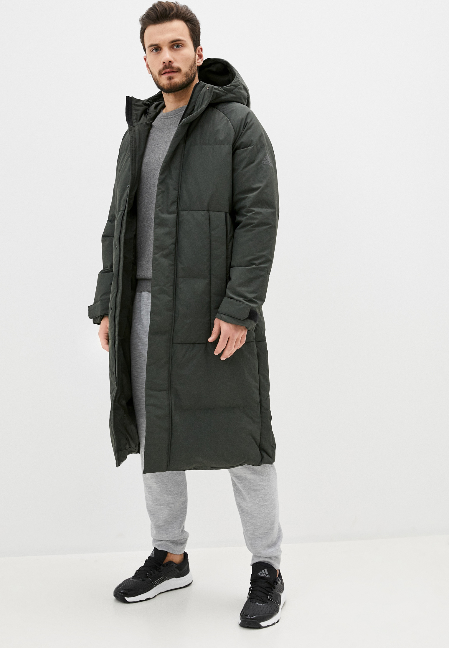 Утепленная куртка Adidas (Адидас) FT2487