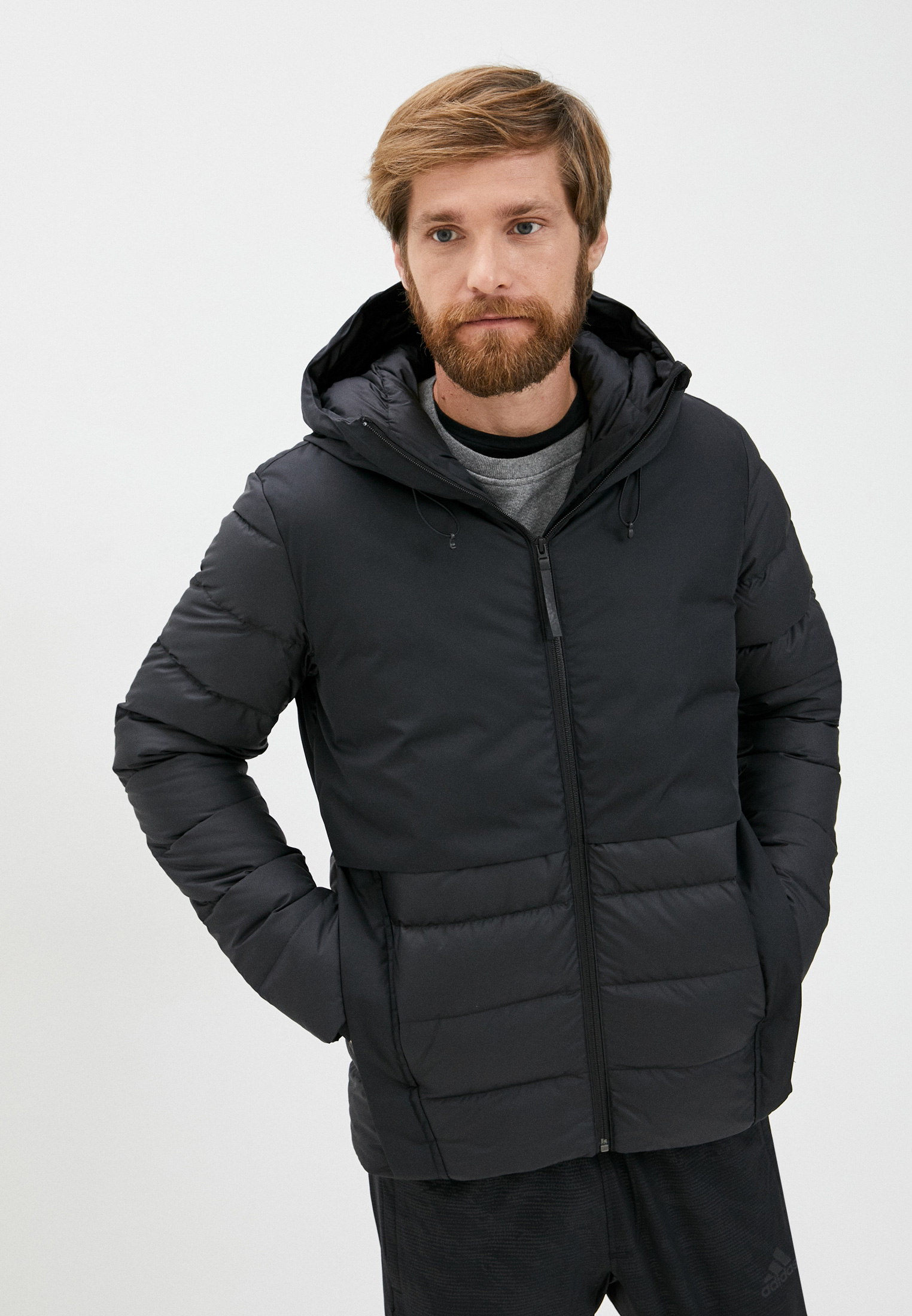 Утепленная куртка Adidas (Адидас) FT2437