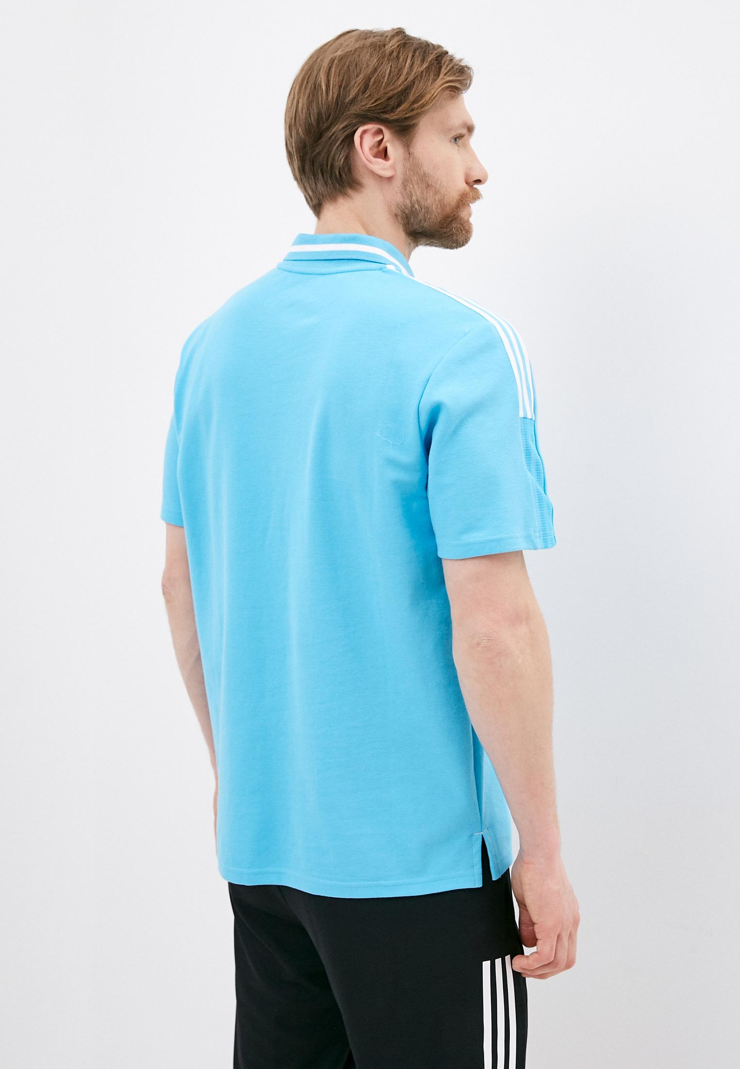 Мужские поло Adidas (Адидас) GL0052: изображение 3