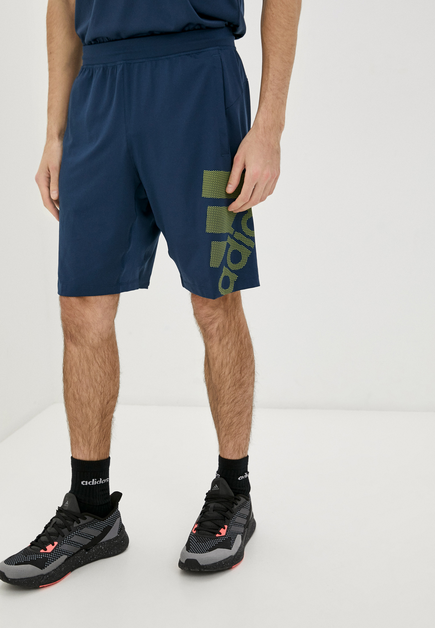 Мужские спортивные шорты Adidas (Адидас) GM0653