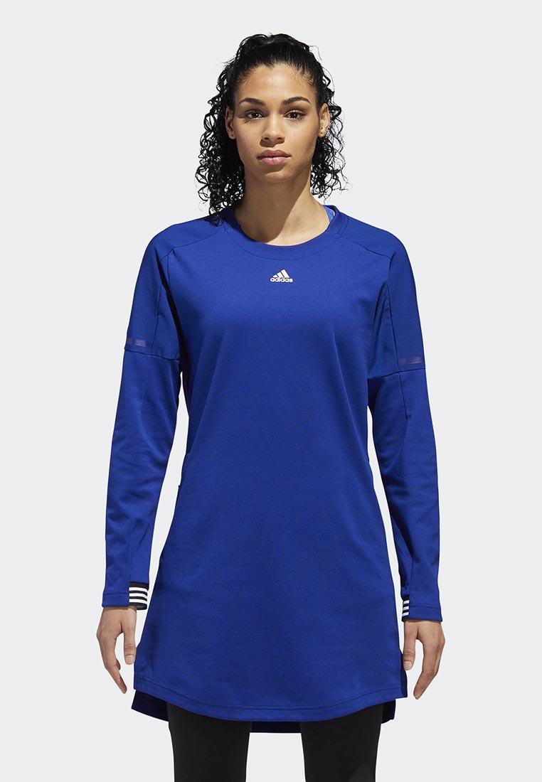Вязаное платье Adidas (Адидас) DH8133