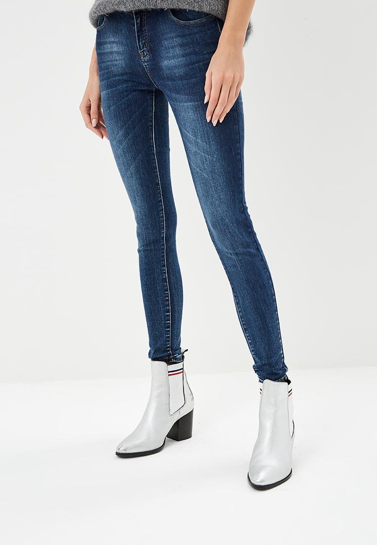 Зауженные джинсы Adrixx B012-CZP526