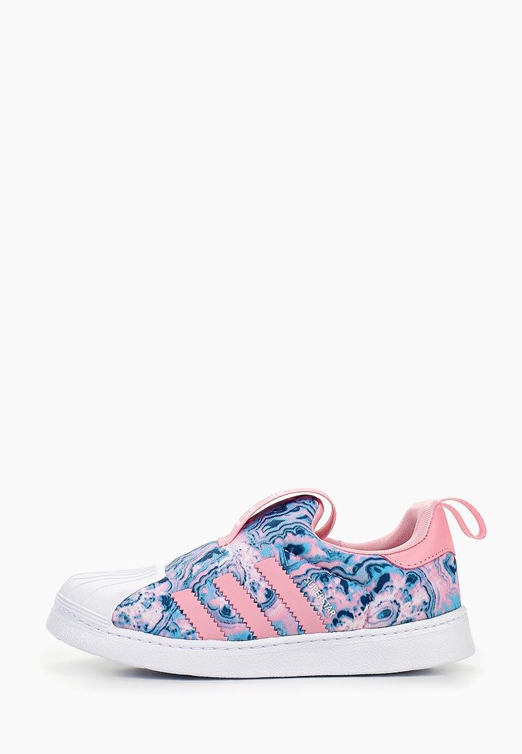Кеды для девочек Adidas Originals (Адидас Ориджиналс) CG6578